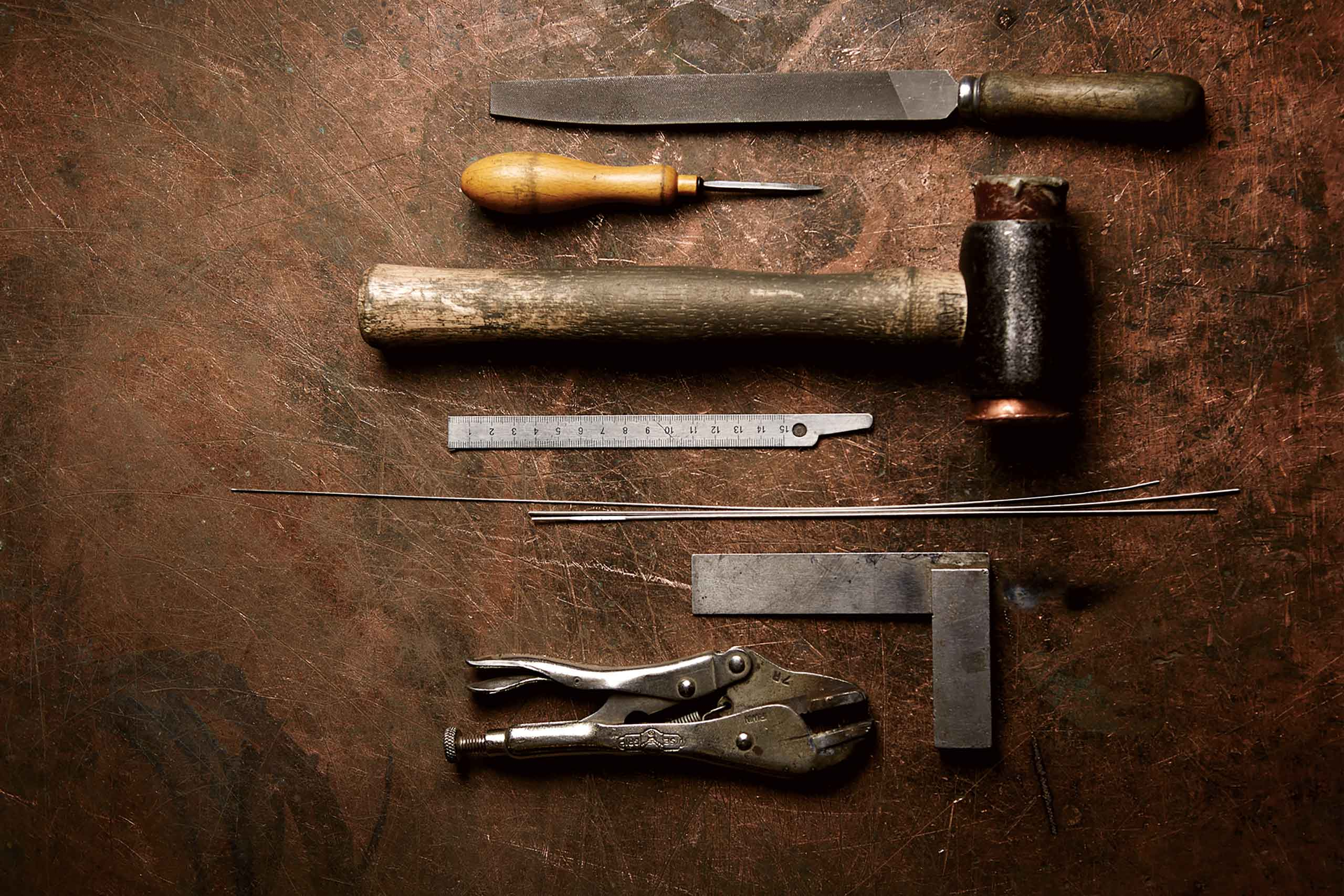 David Harber tools