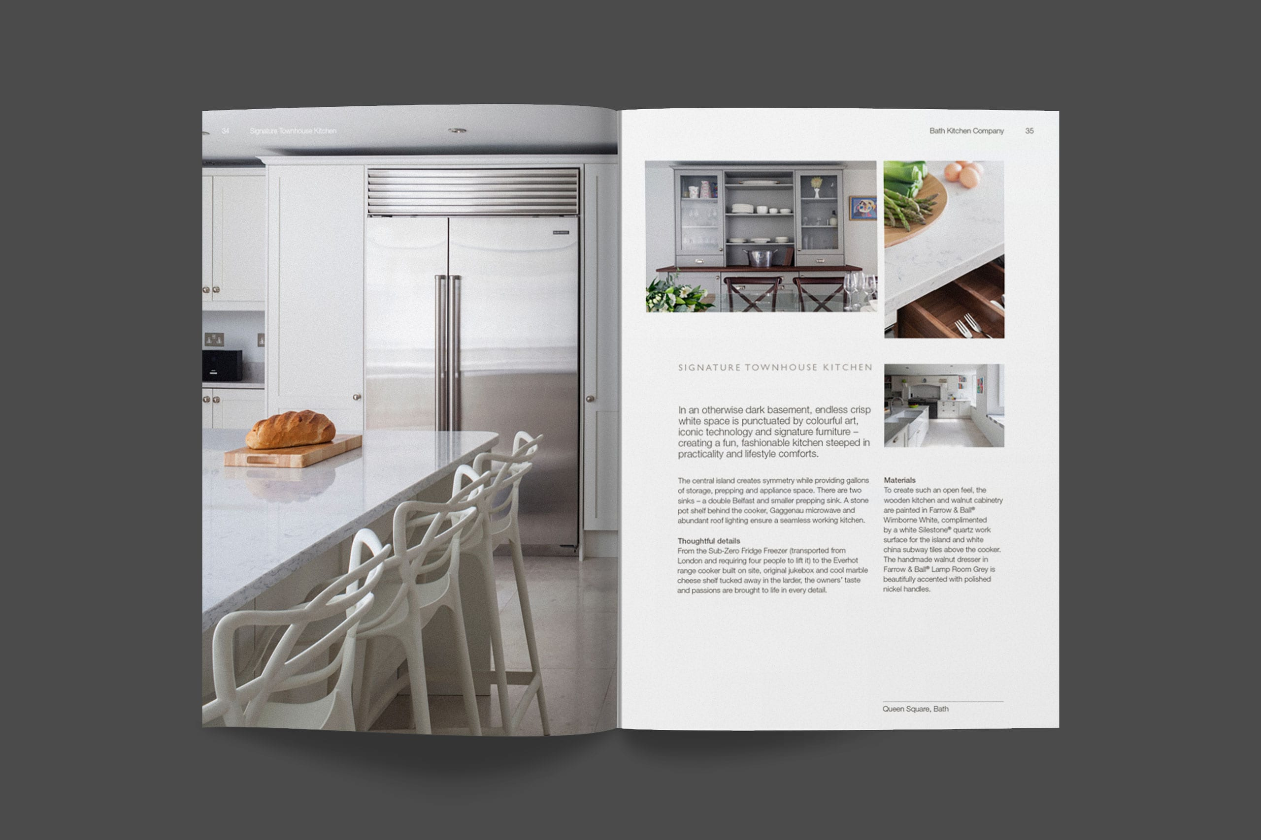 Bath Kitchen Company brochure spreads