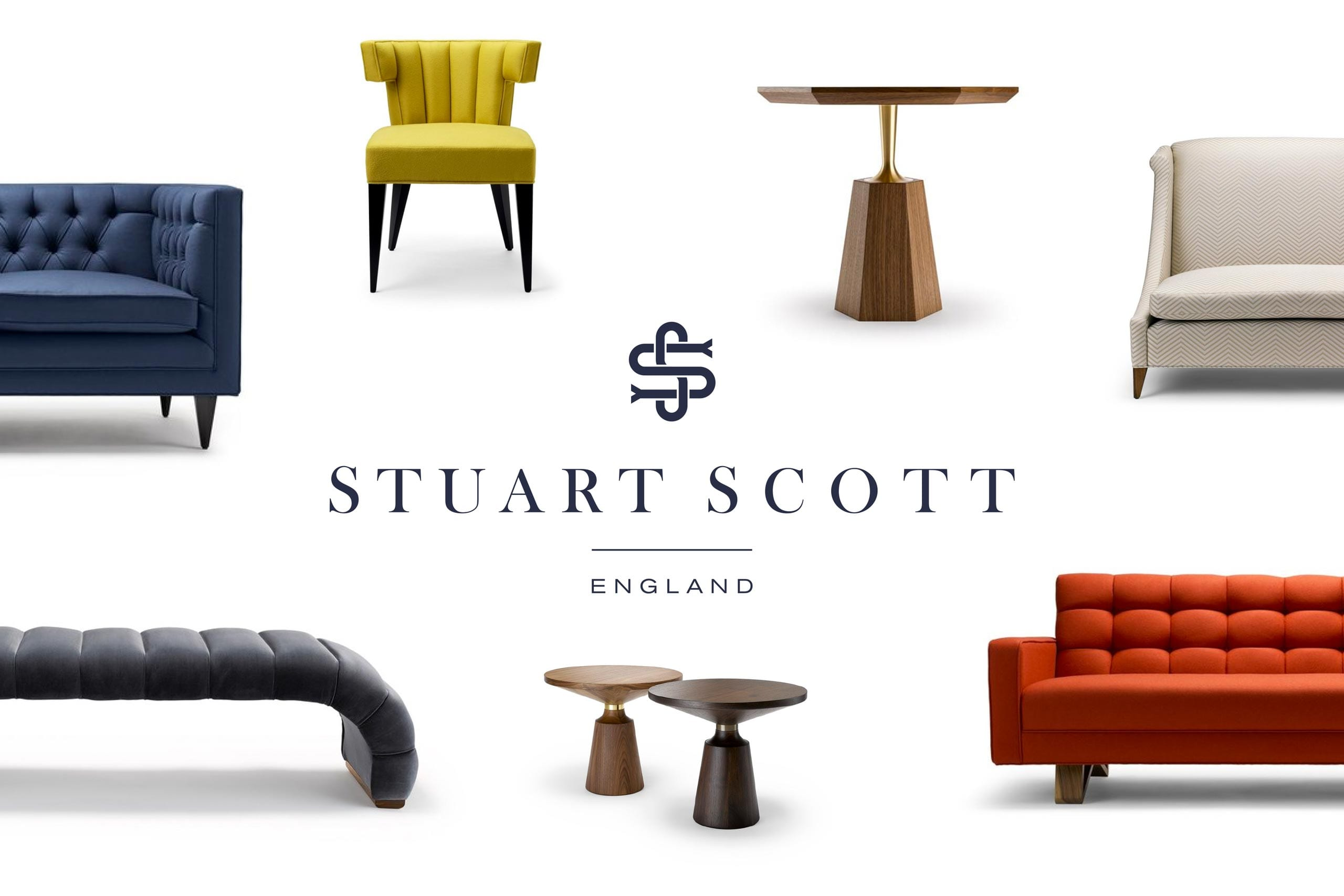Luxury Furniture Branding Stuart Scott brand