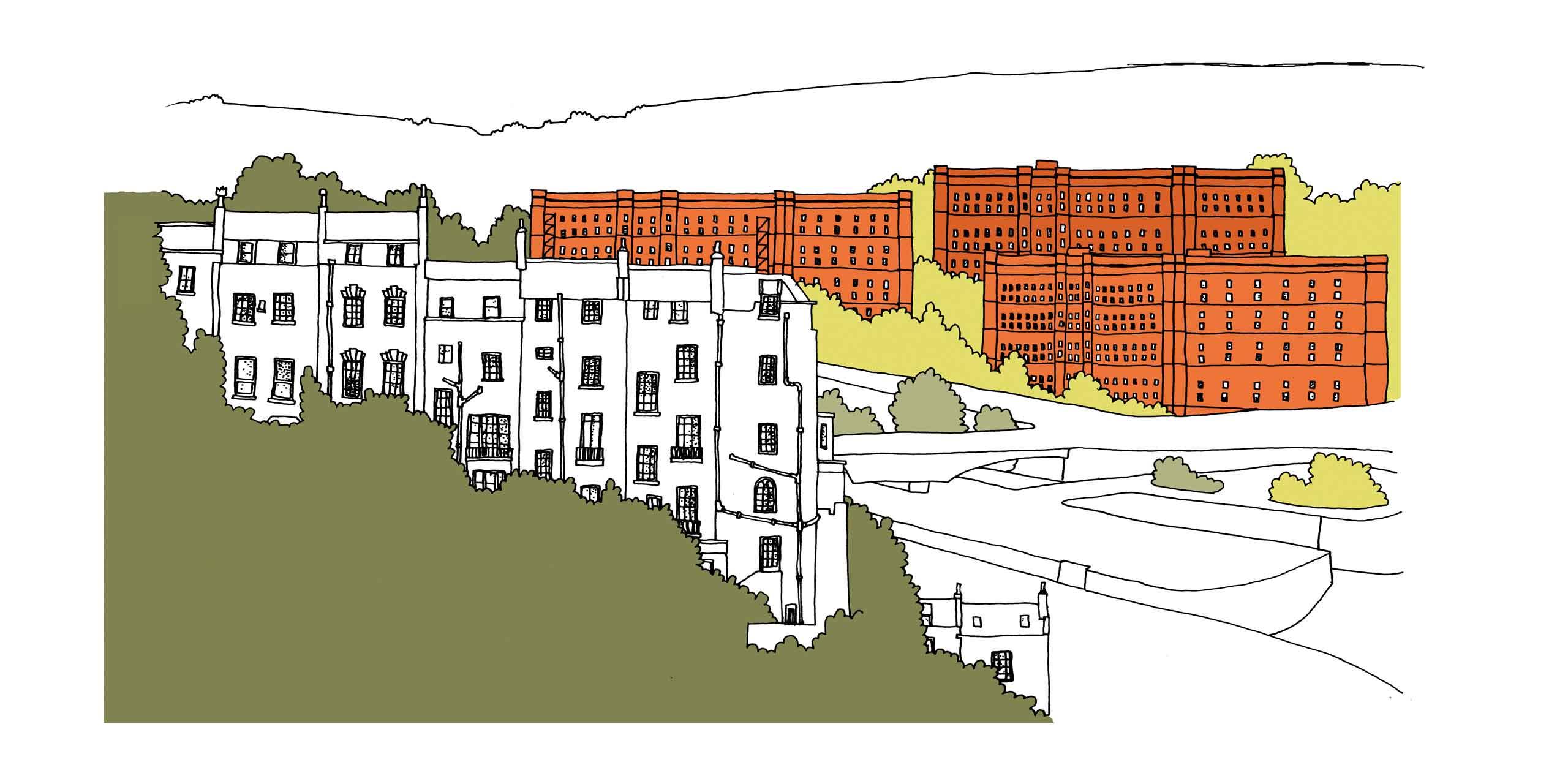 Abode illustrations Bristol