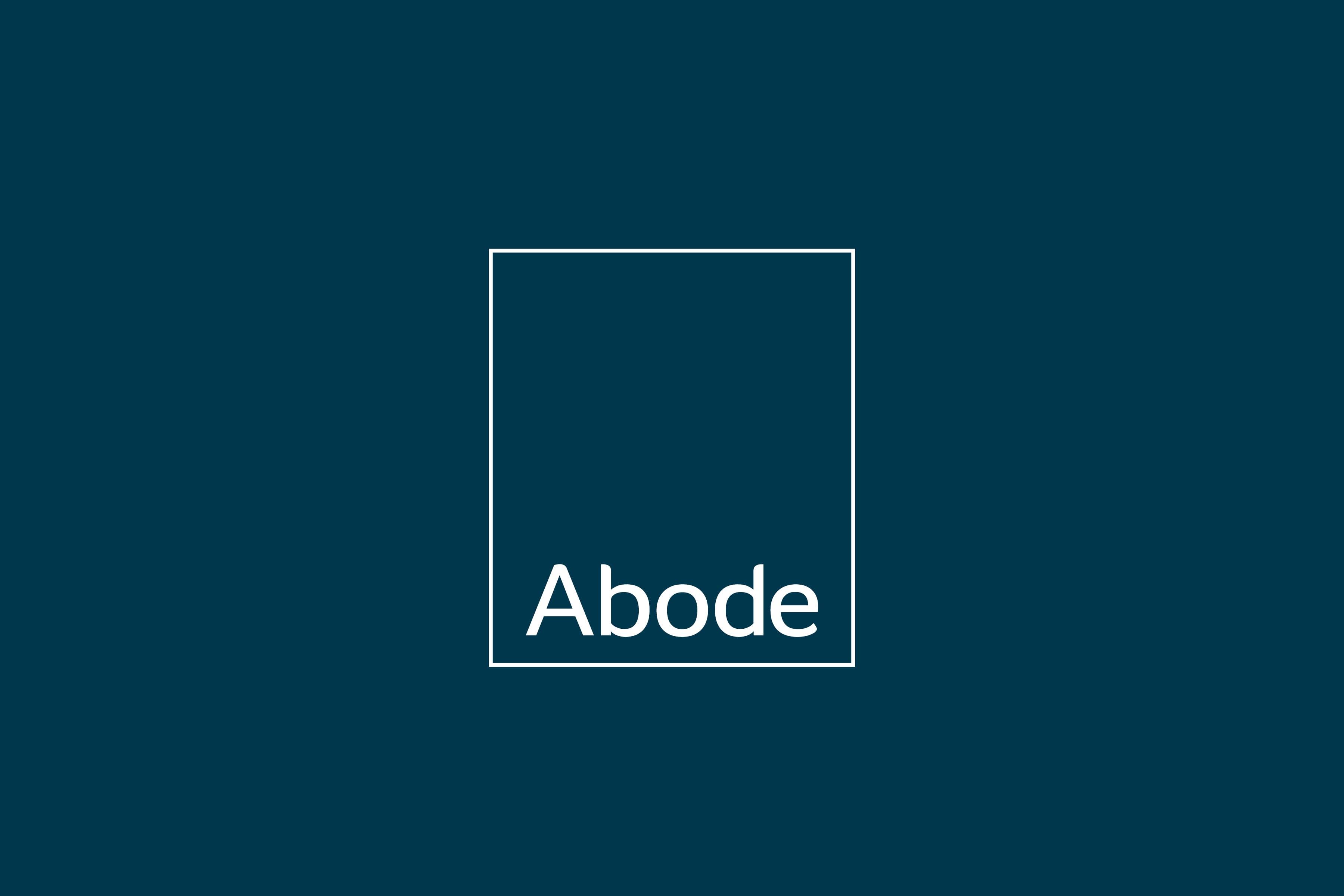 Abode full colour logo | brand marketing agency