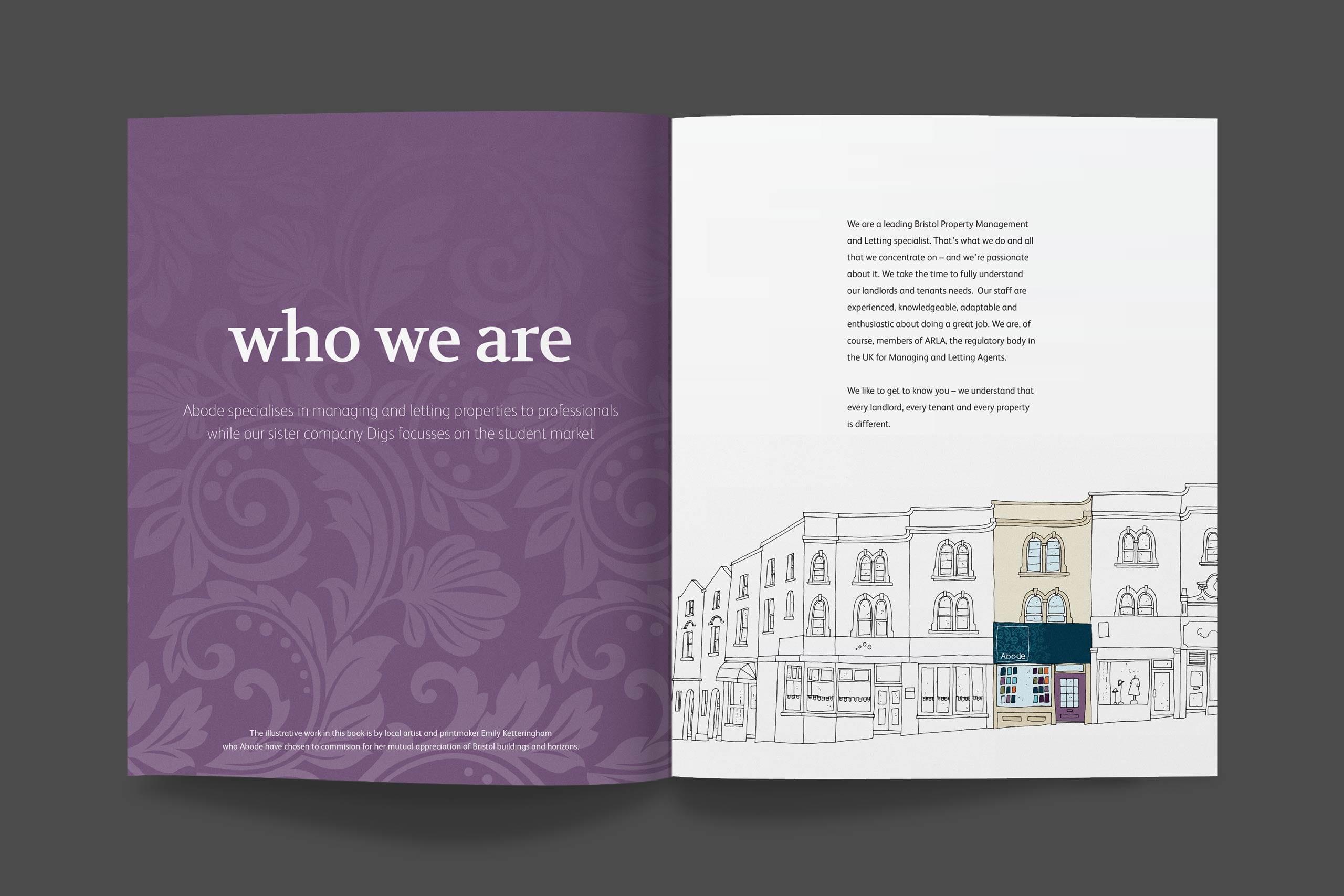 Abode brochure spread 3