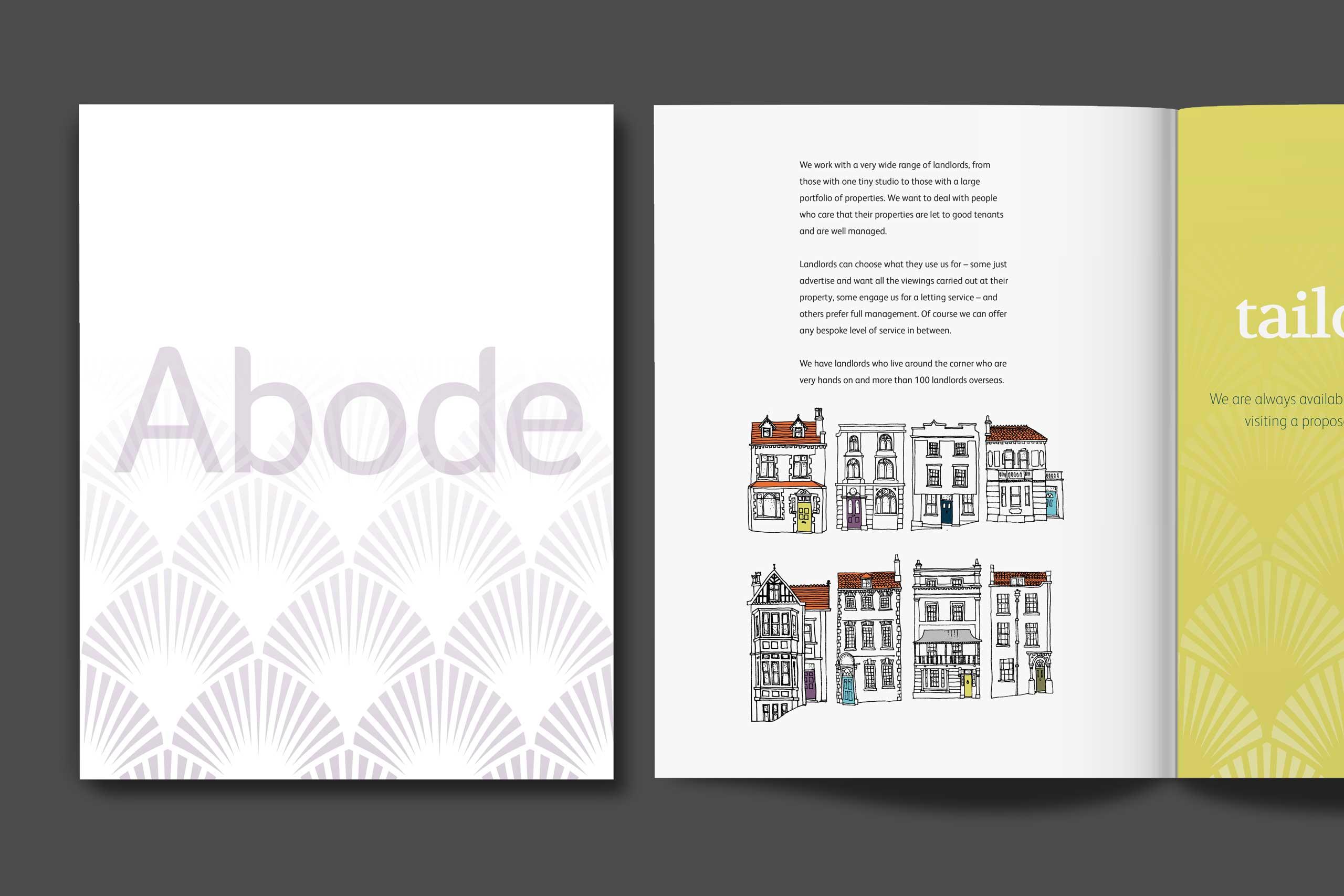 Abode brochur spread 2