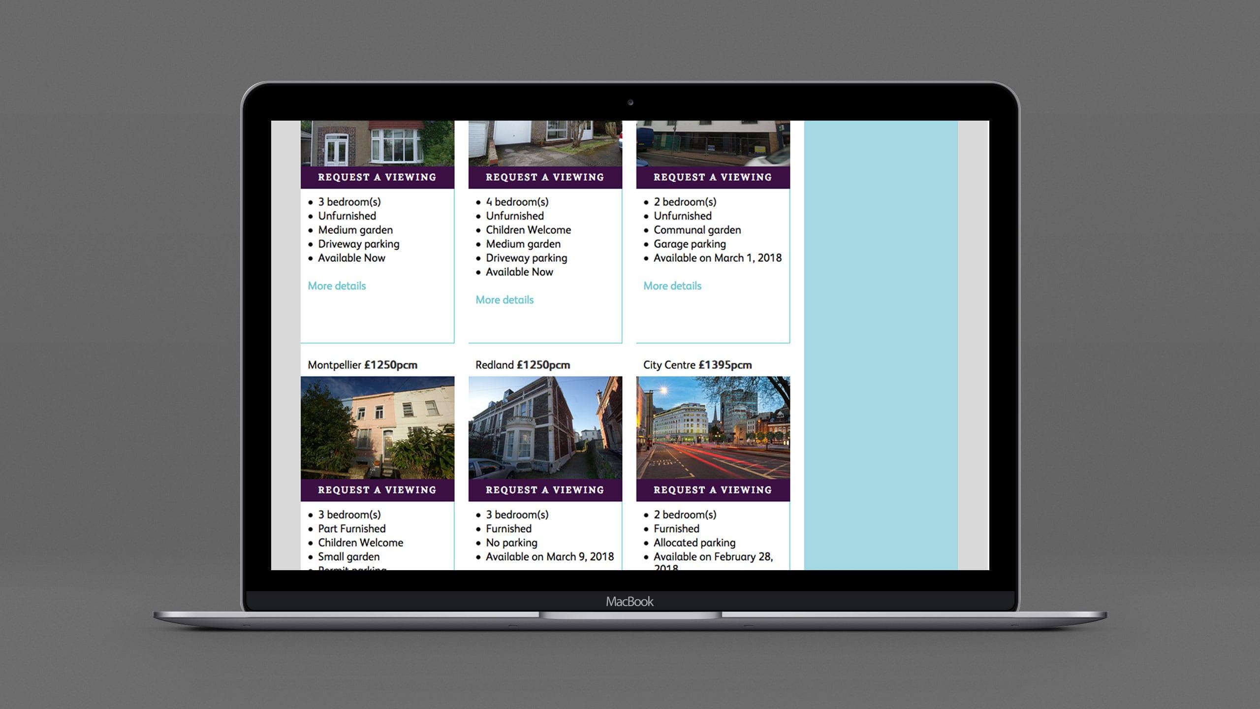 Abode website laptop 2