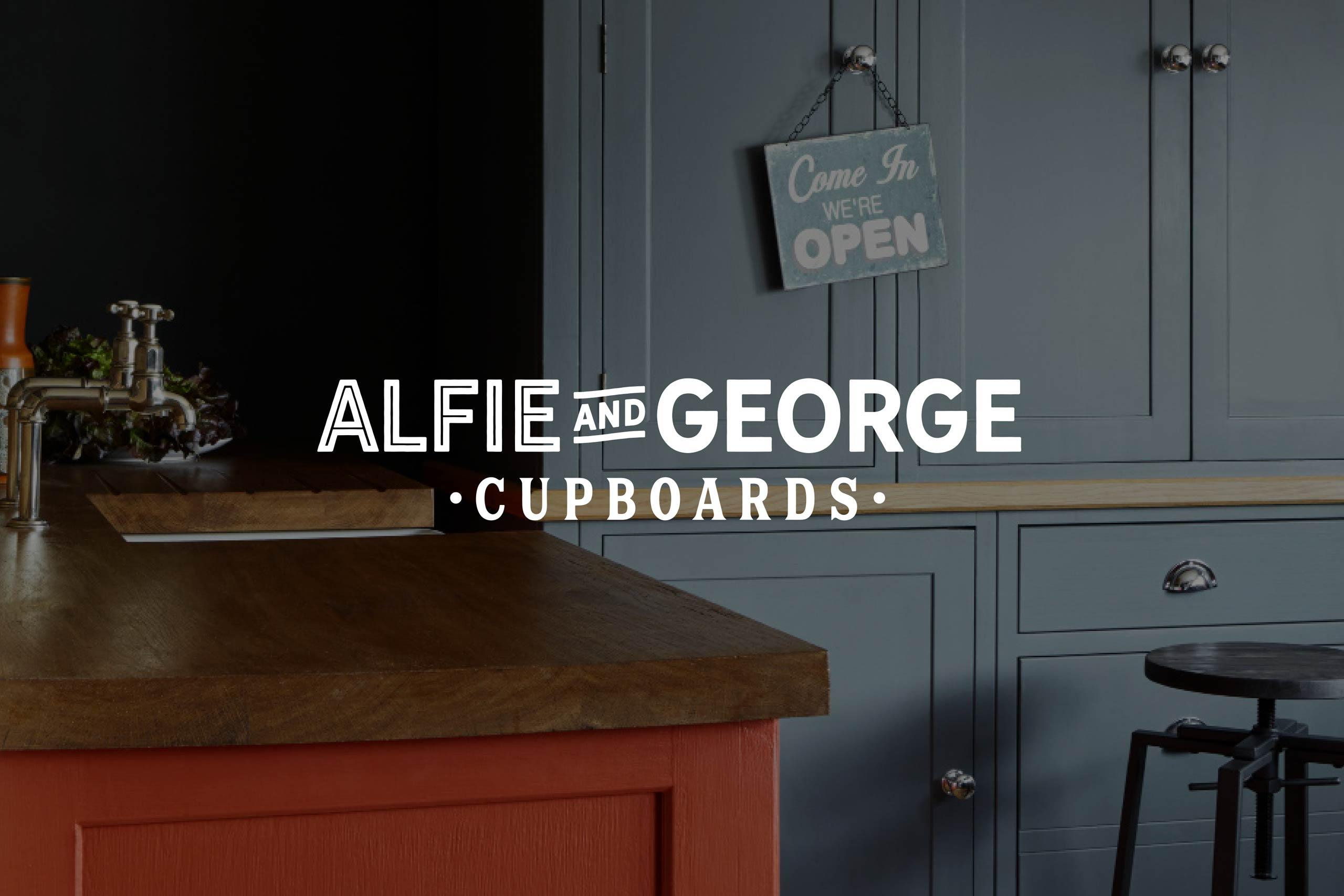Alfie & George logotype