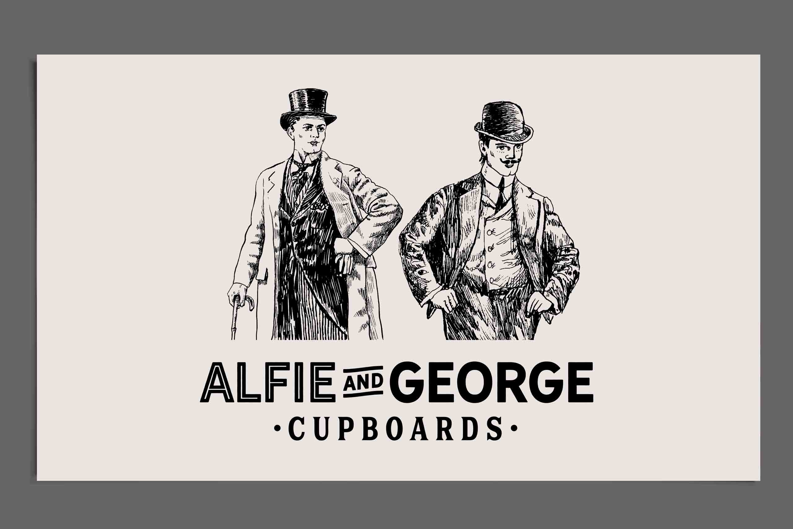 Alfie and George characters