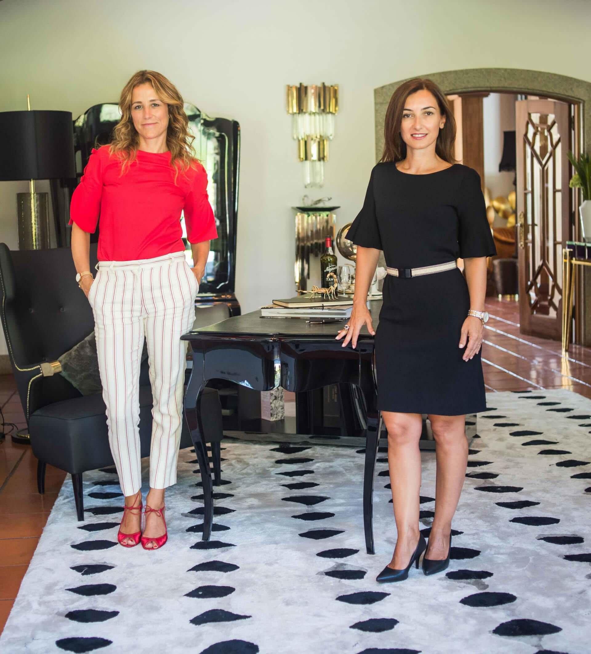 Luxury furniture logo design for Kassavello: Ana Azevedo and Renata Teixeira