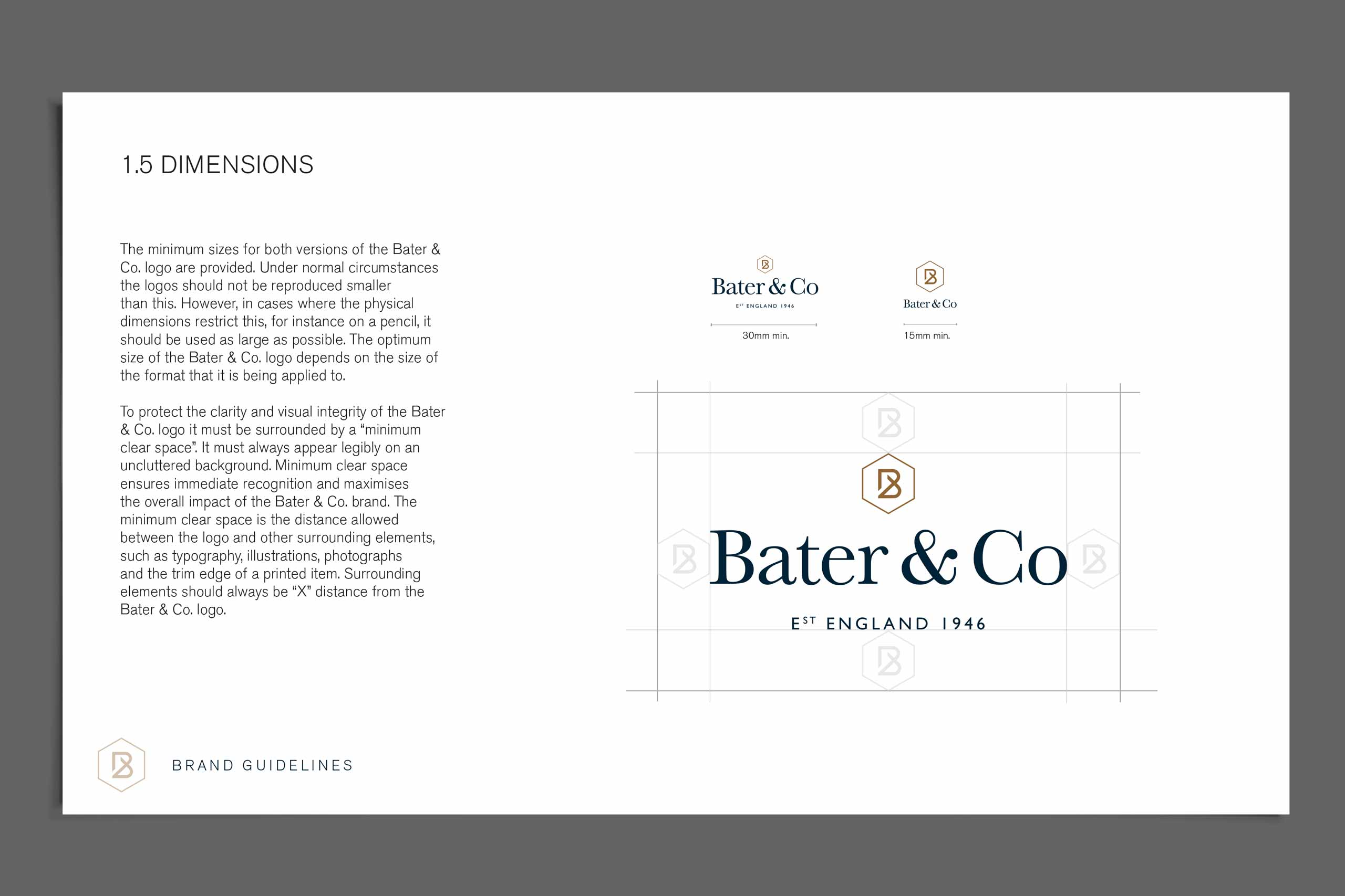 Bater & Co brand identity guidelines