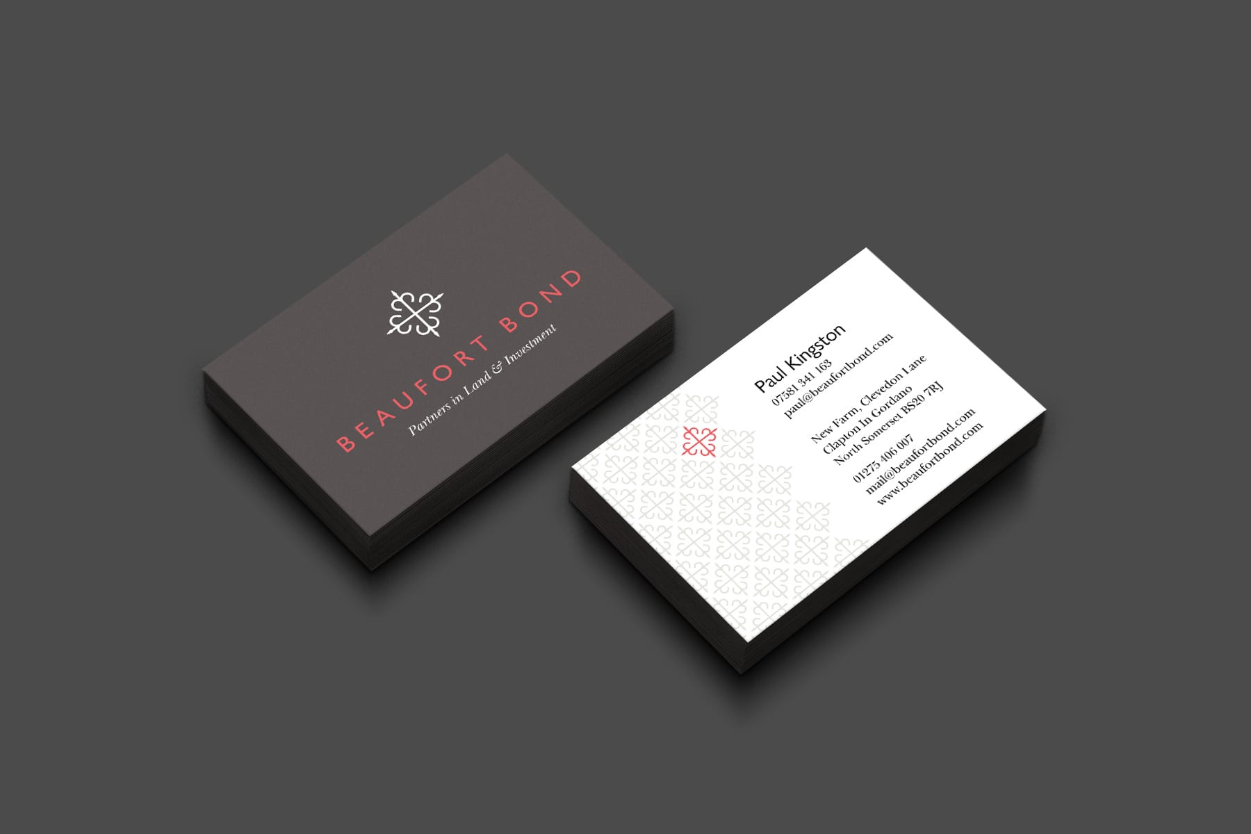 Beaufort Bond business cards