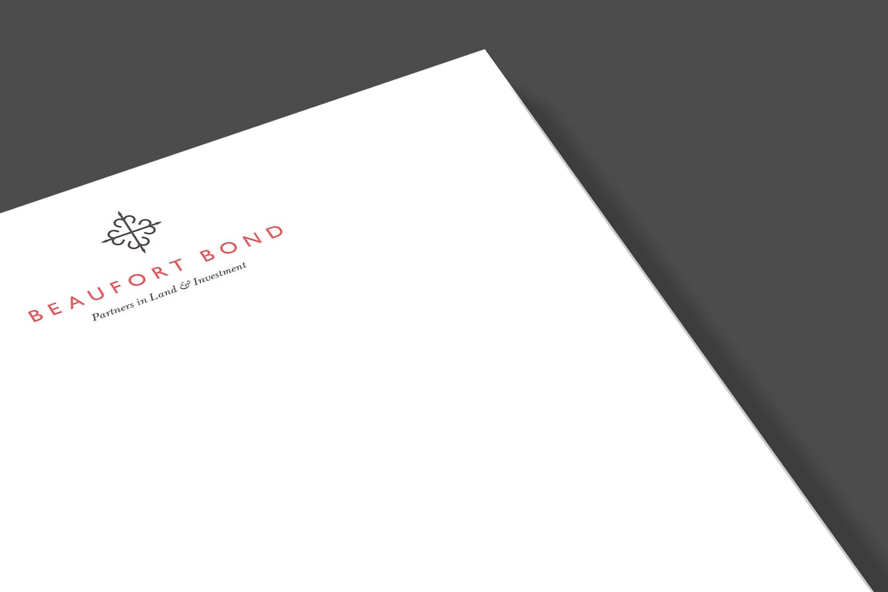 Beauford Bond stationery