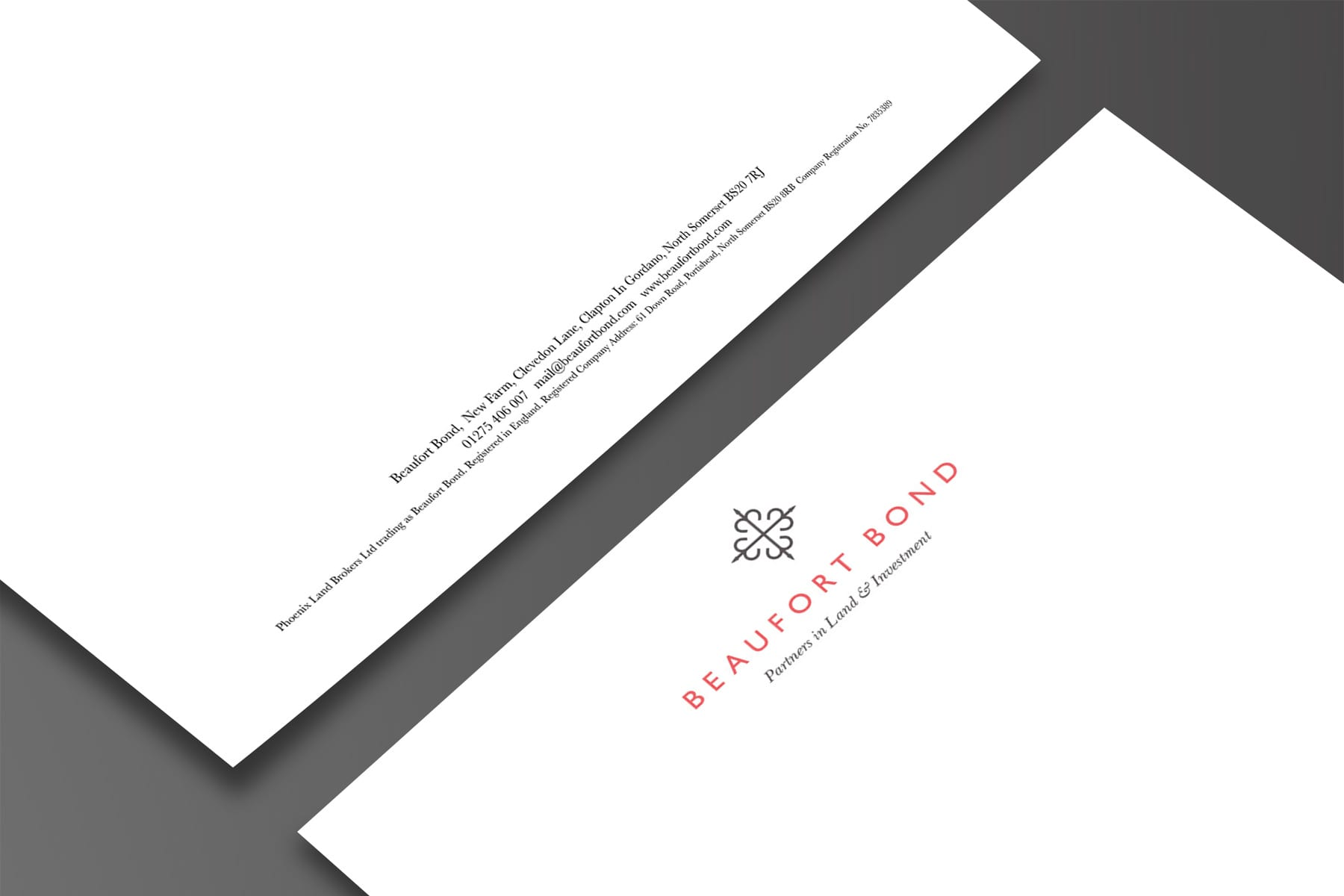 Beaufort Bond letterheads