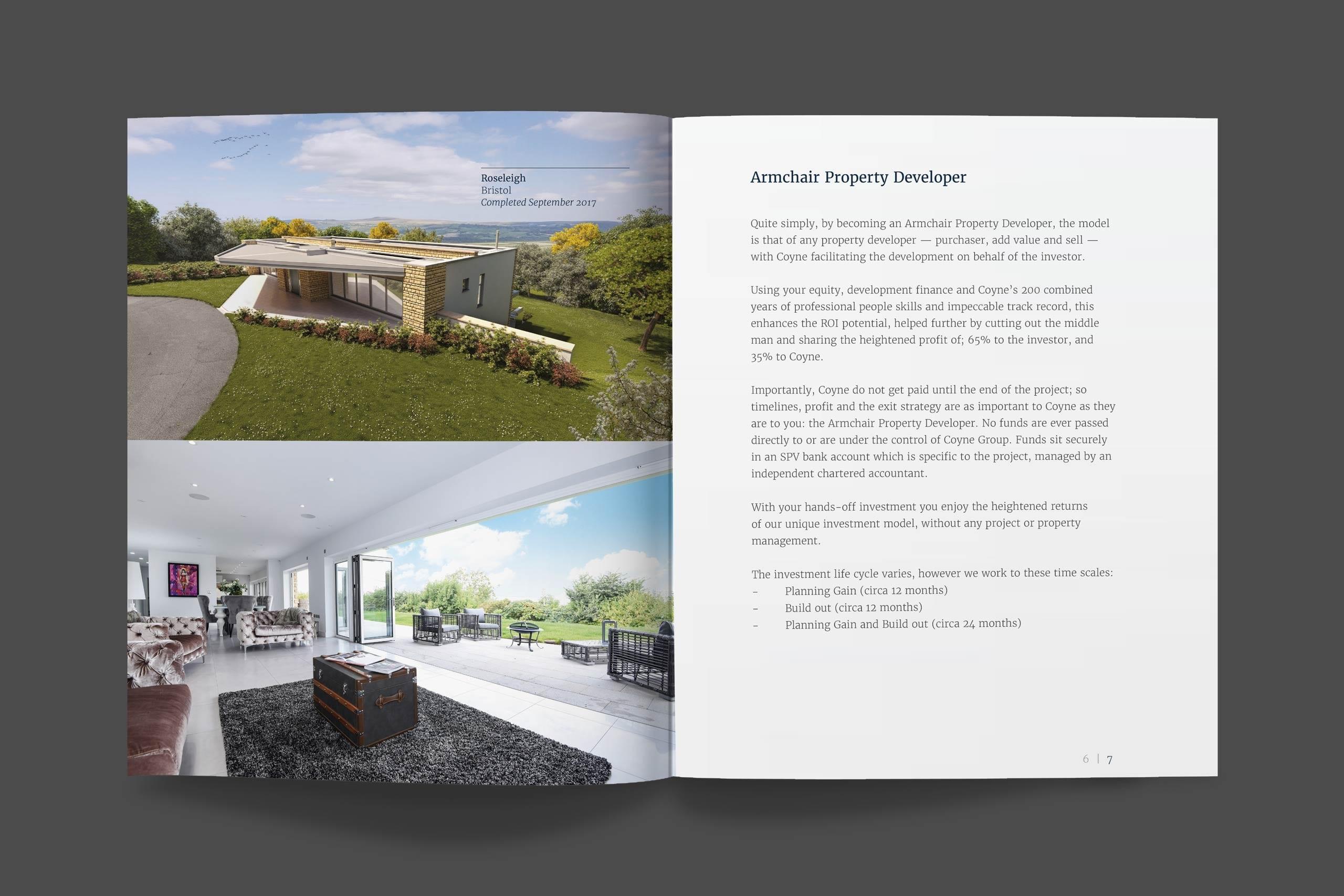 Coyne brochure spread two
