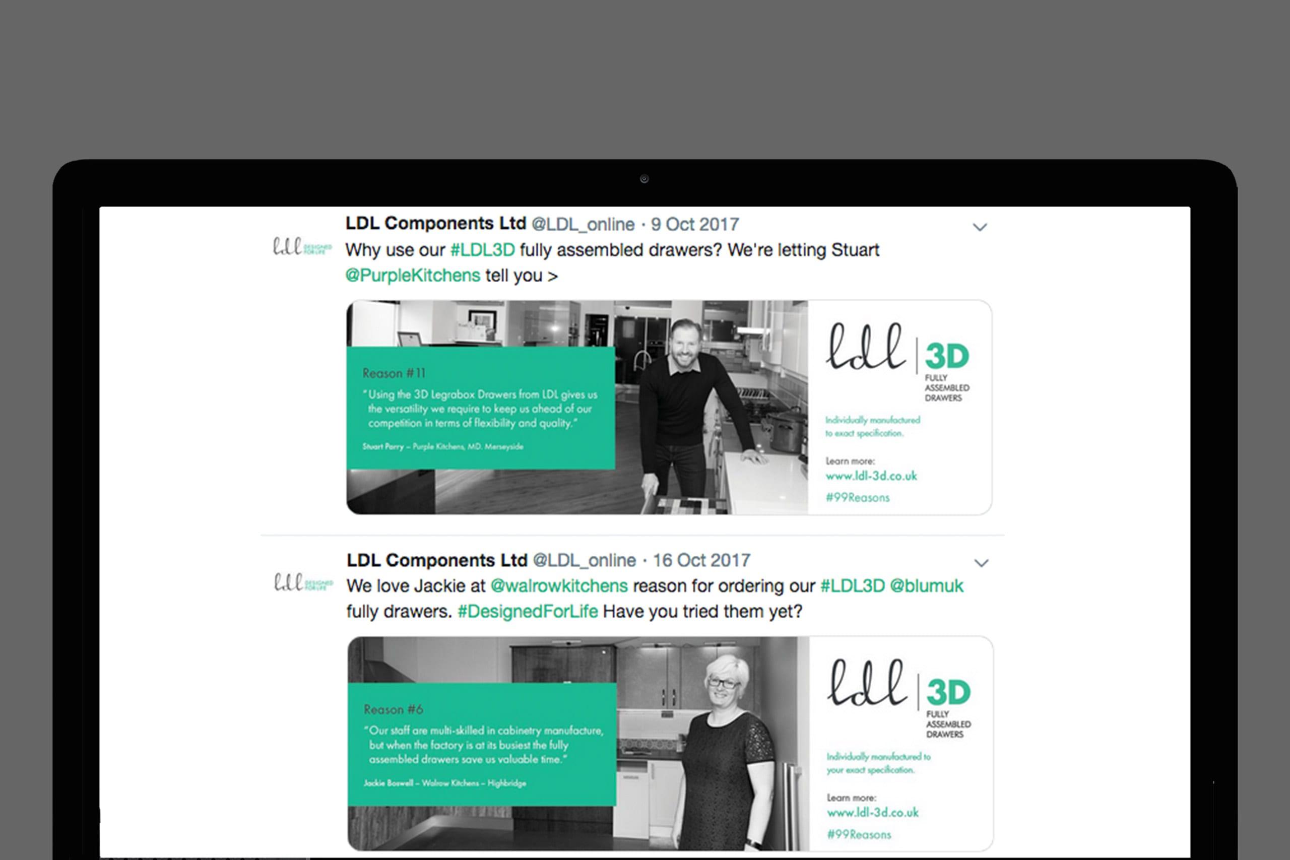 LDL 3D service brand ID