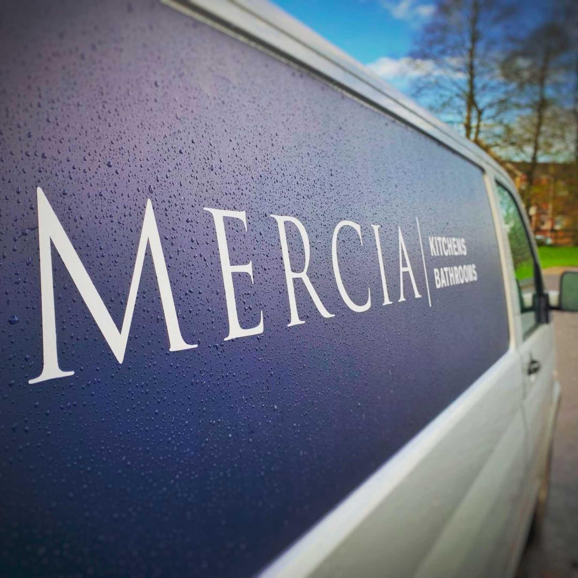 Mercia van livery