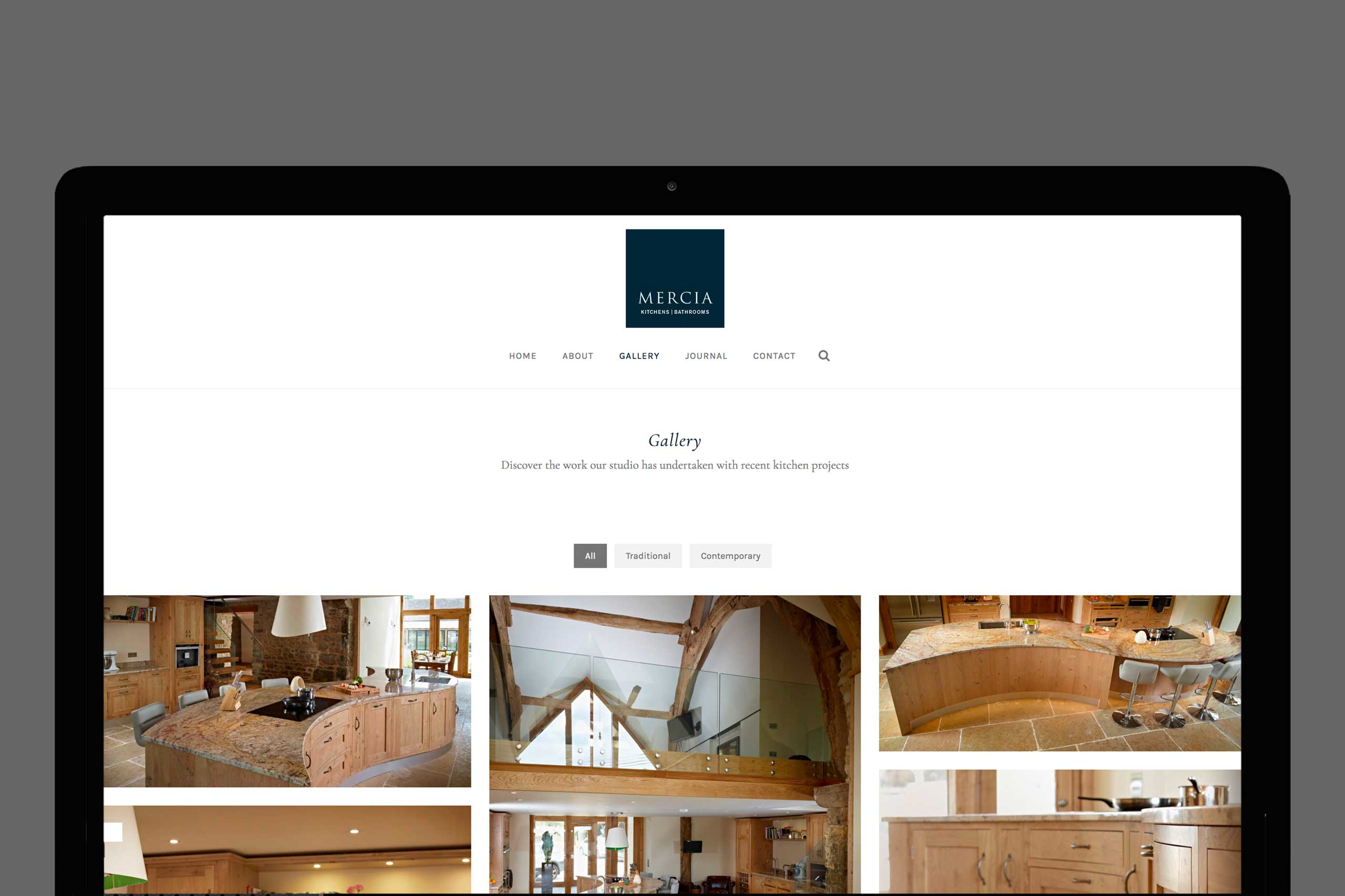 Mercia Kitchens and Bathrooms web design