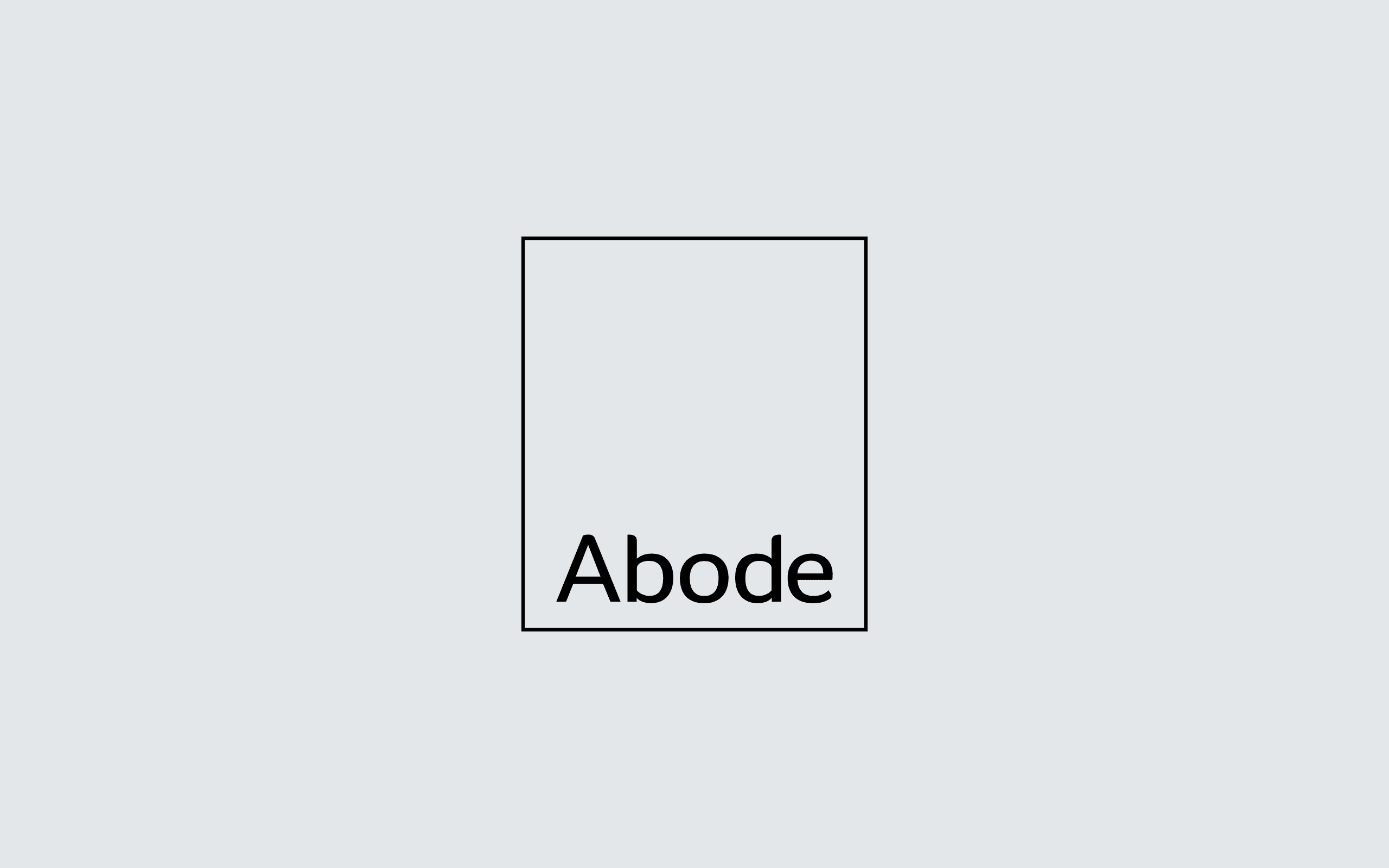 Abode Property Lettings logo | Zeke Creative