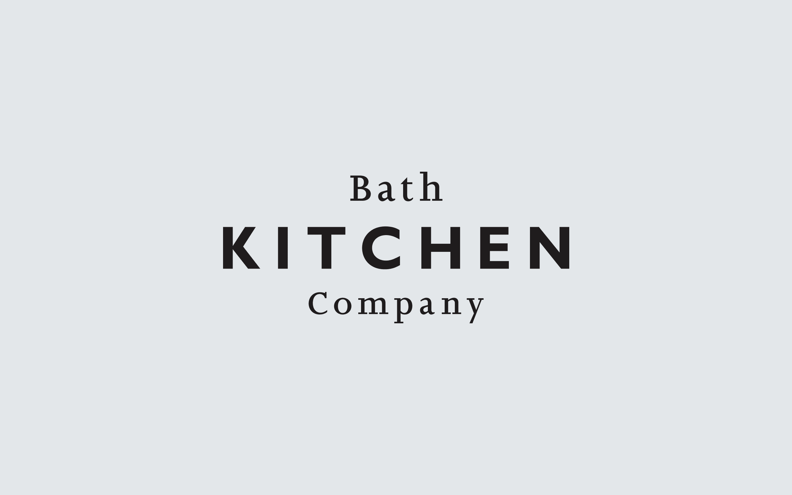 Bath Kitchen Company logo | Zeke Creative