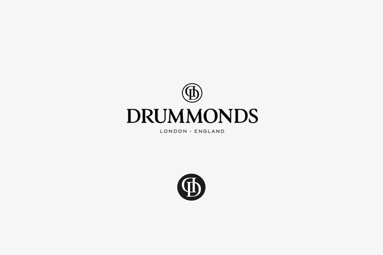 Drummonds logo lock-up