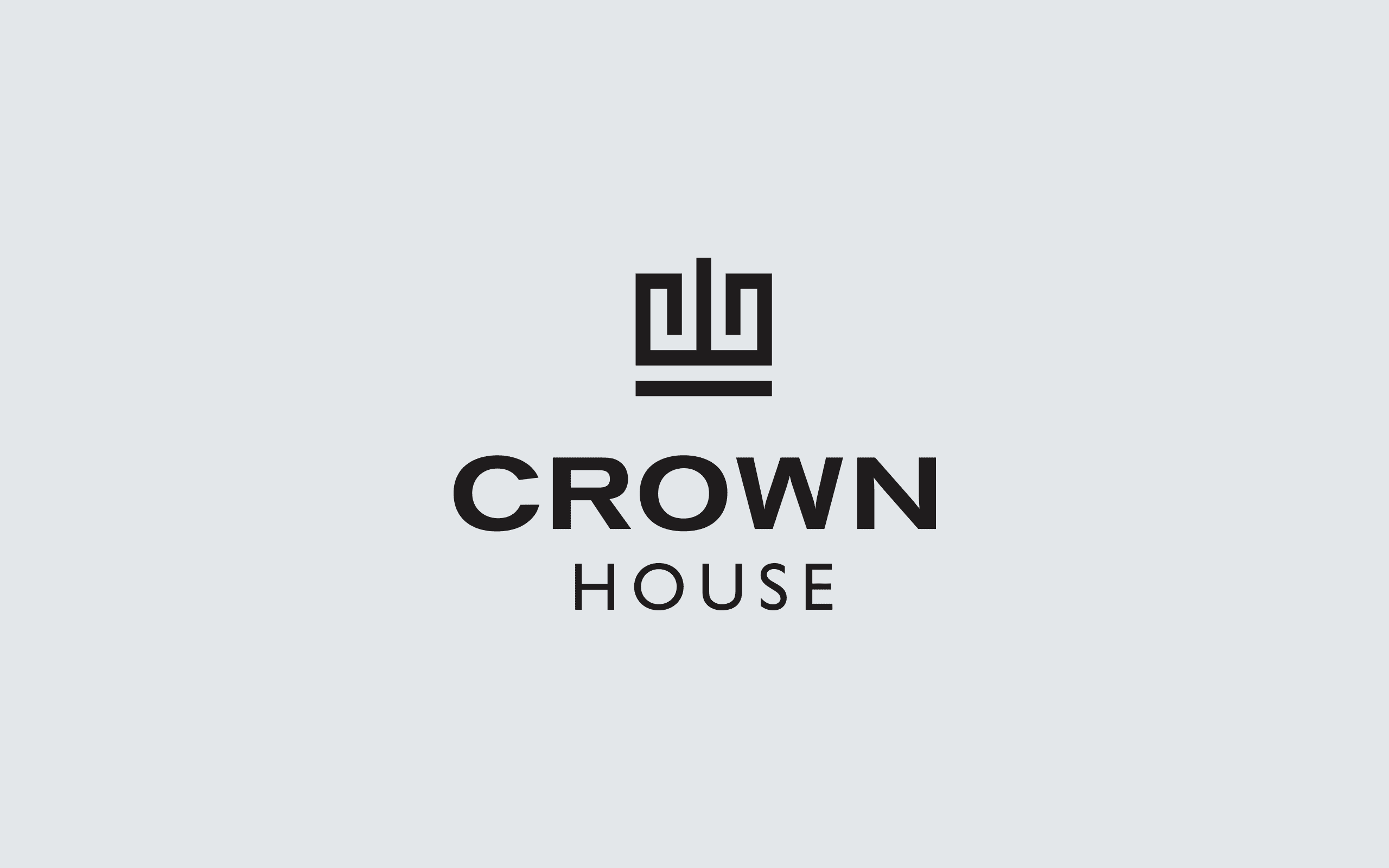 Crown House logo | Zeke Creative