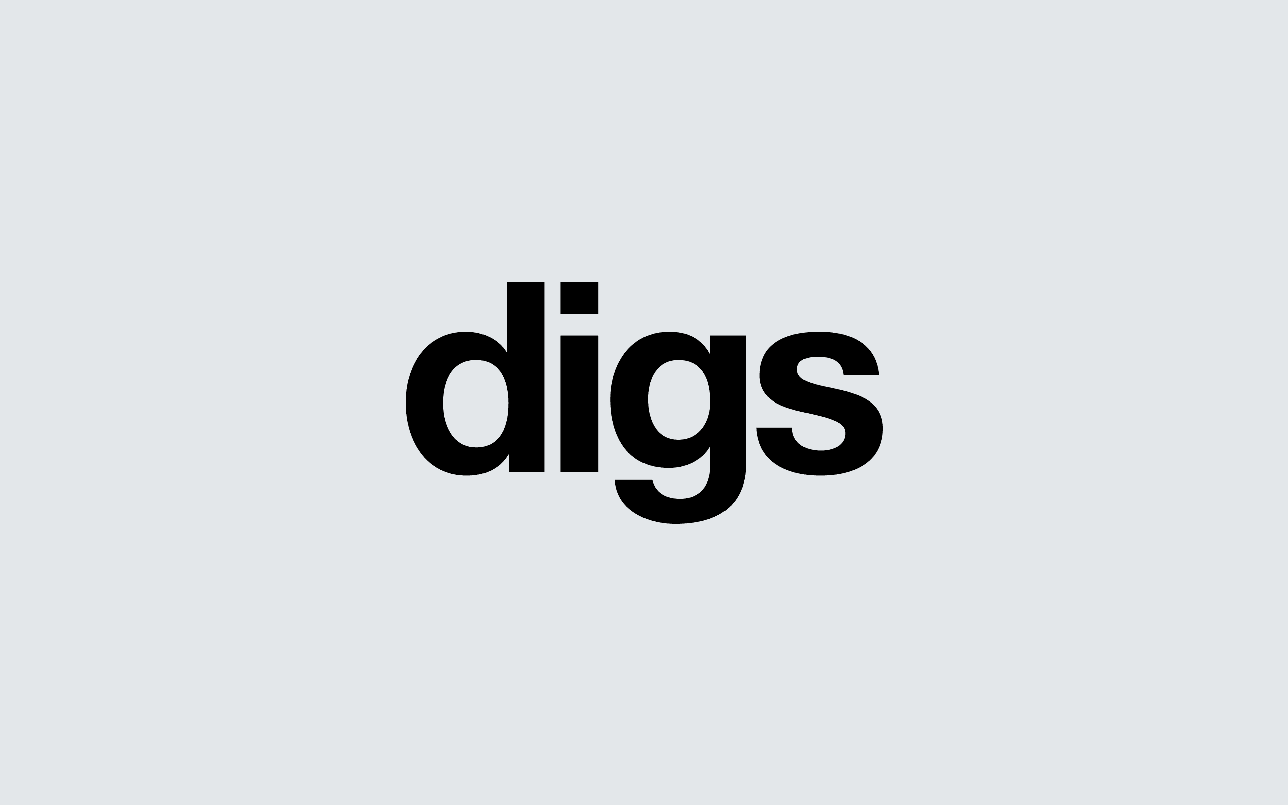 Digs Property Lettings logo | Zeke Creative