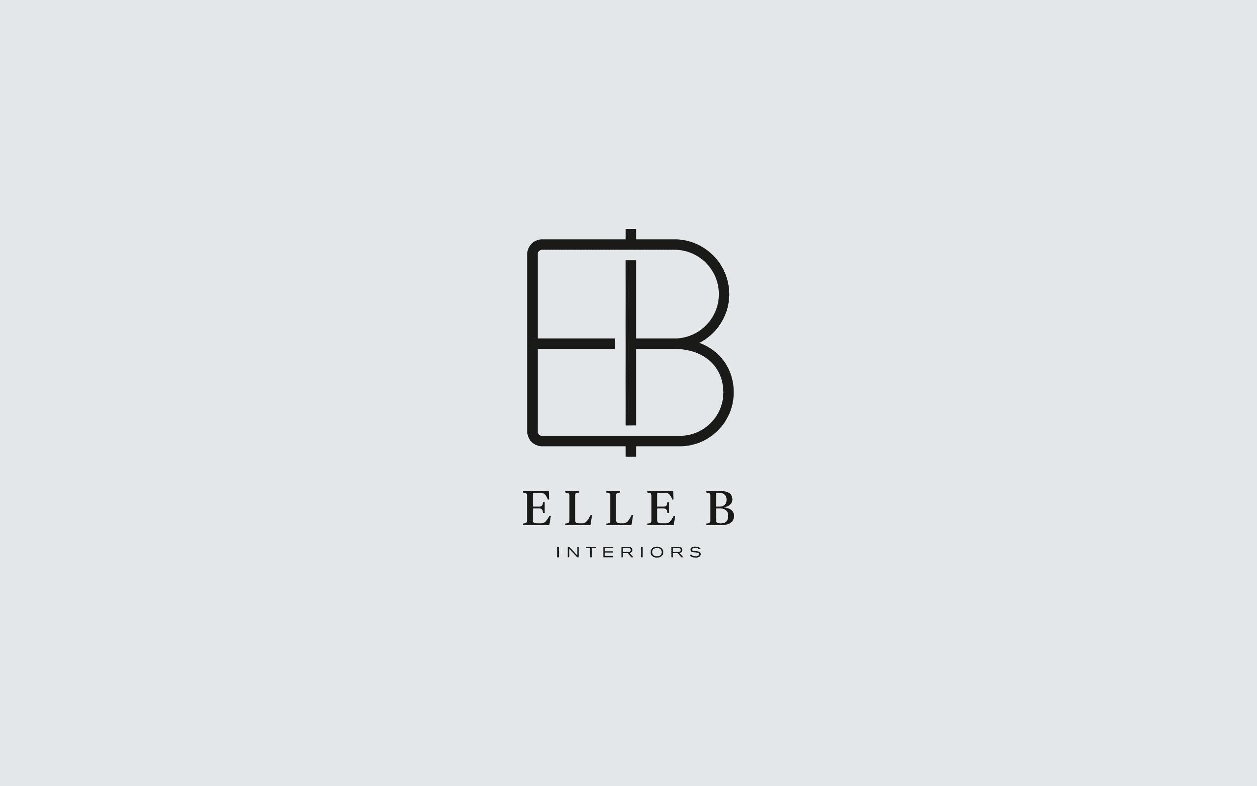 Elle B Interiors logo | Zeke Creative