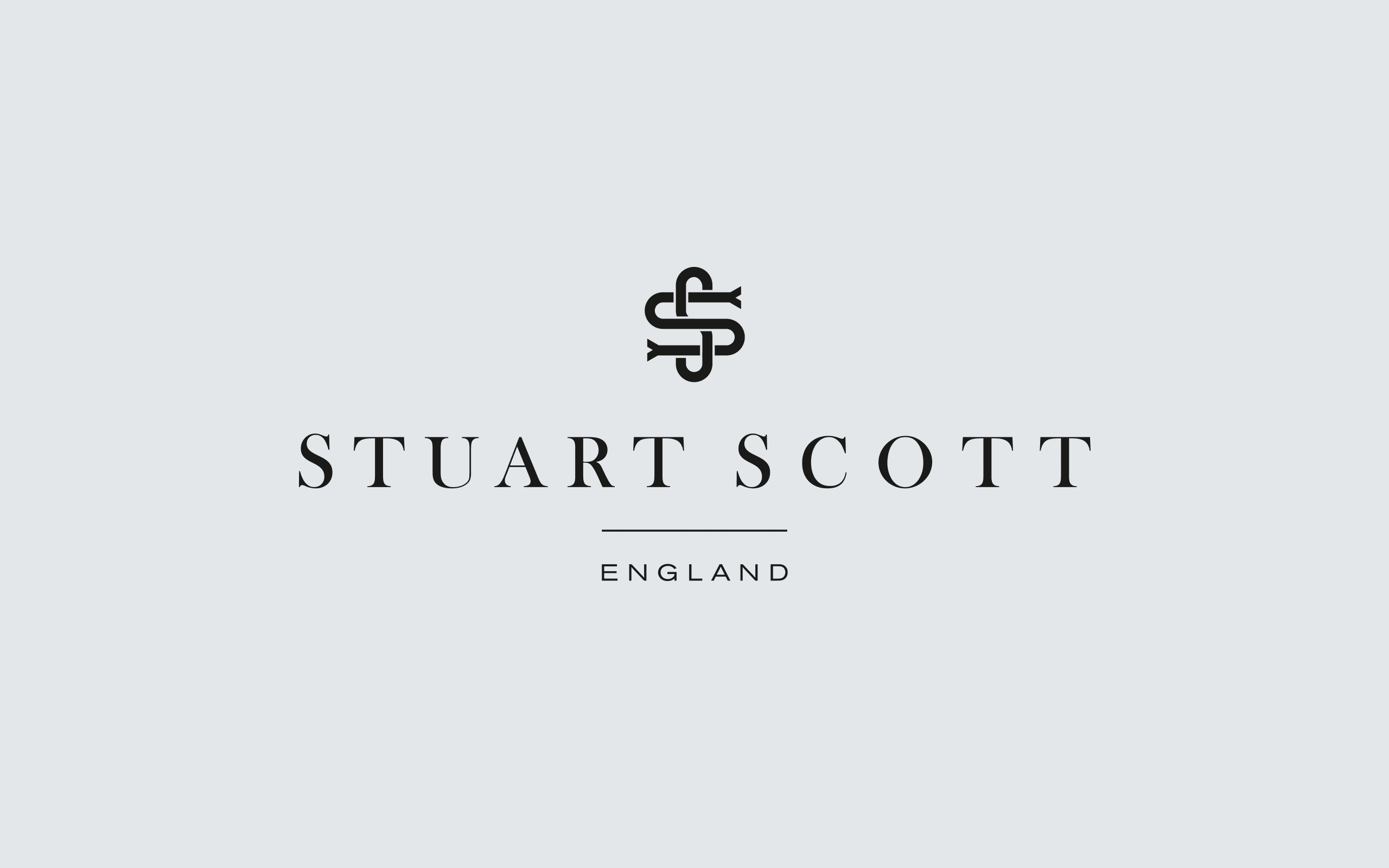 Stuart Scott Furniture logo | Zeke Creative